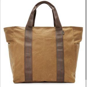 FILSON large grab and go tote bag brown tan